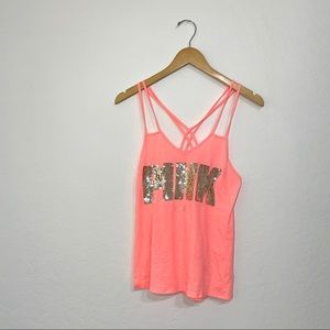 PINK by Victoria's Secret Sequin Tank
